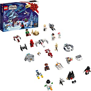 LEGO Star Wars 2020 Advent Calendar 75279 Building Kit for Kids, Fun Calendar with Star Wars Buildable Toys Plus Code to Unlock Character in Star Wars: The Skywalker Saga Game (311 Pieces)
