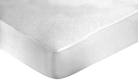 zambaiti: Protector de colchón Impermeable; 1 Plaza, Individual; de Espuma; Transpirable