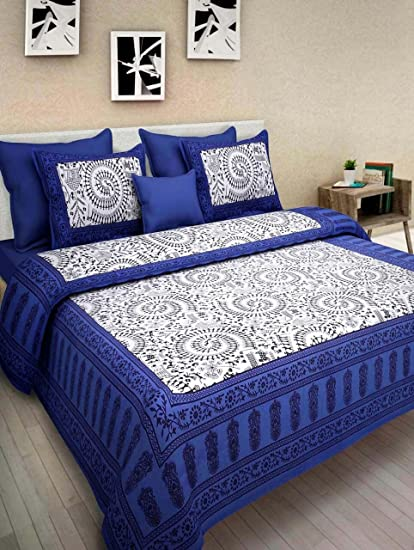 rhf 100 cotton traditional warli art designs double bed sheet bed