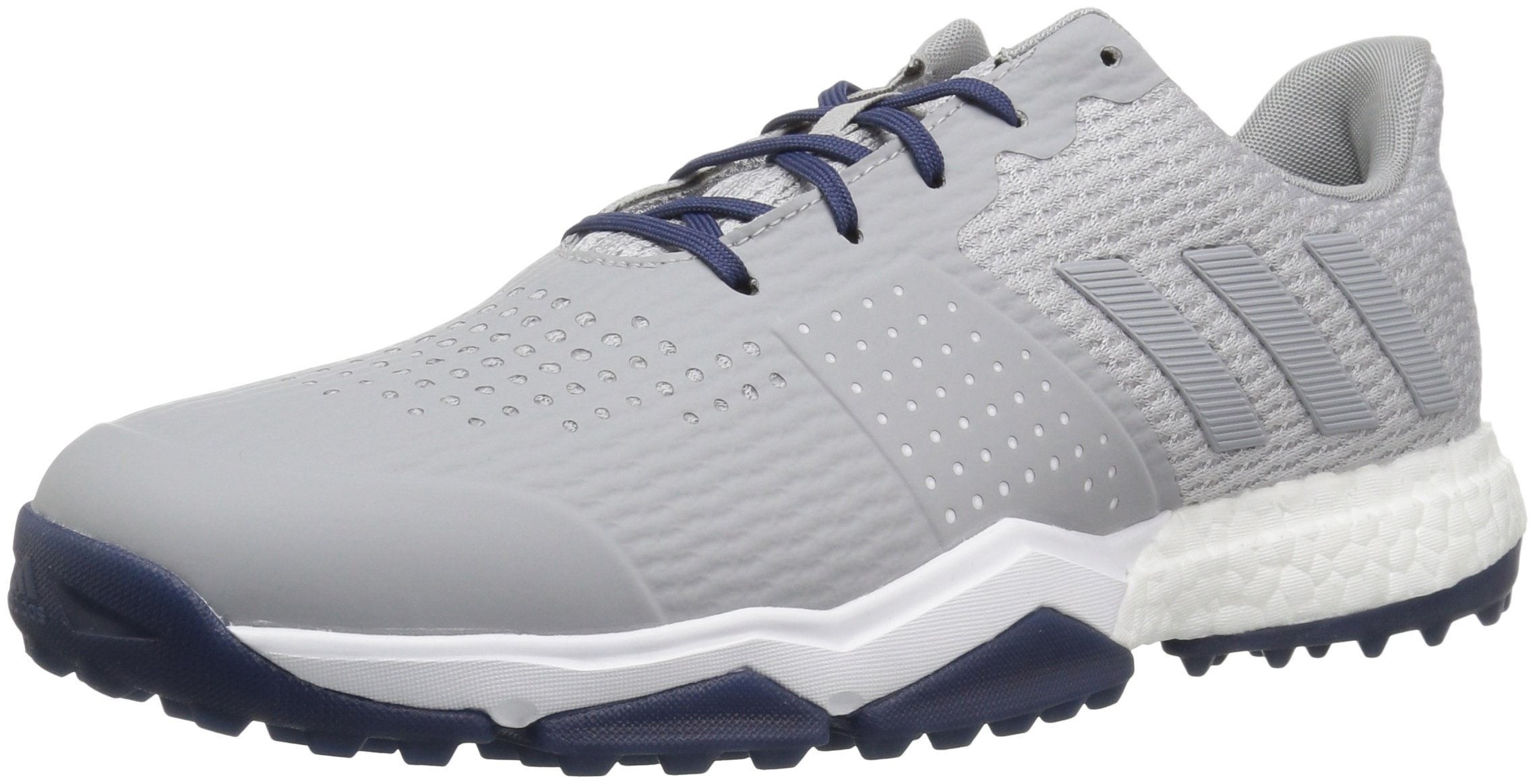 adidas Men's Adipower s Boost 3 Golf Shoe, Grey/Noble Indigo, 10 M US by adidas