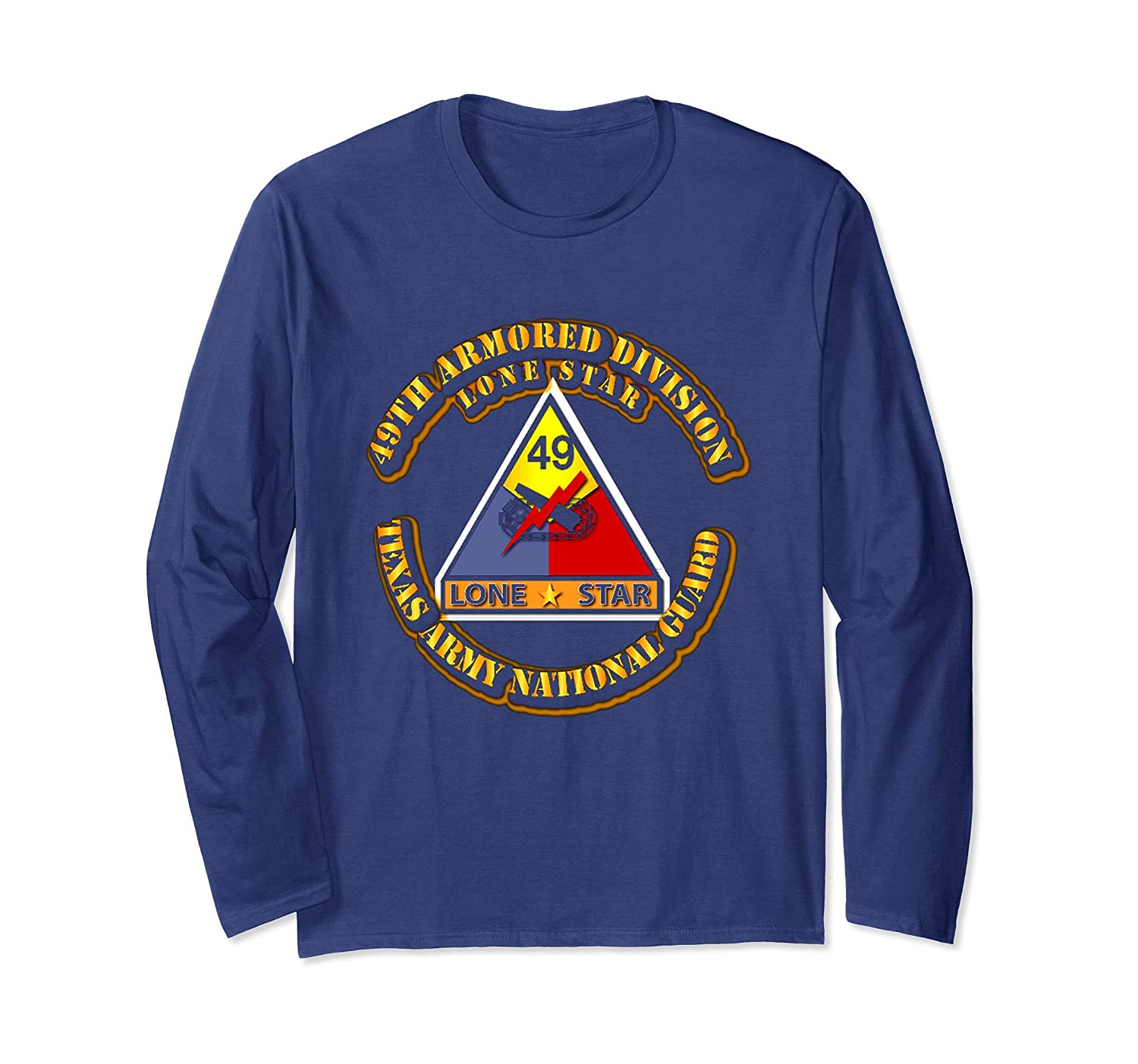 49th Armored Division ,Texas Army National Guard Tshirt-mt