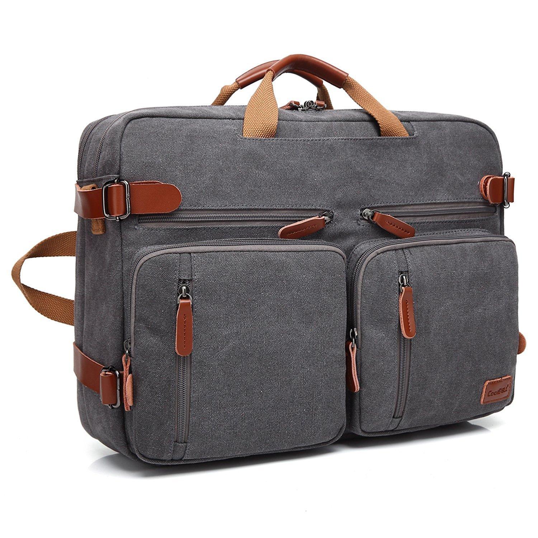 bf48bd5865 Amzbag Convertible Backpack Laptop Messenger Bag Book Bag School Bag  Shoulder Bag Laptop Case Handbag 15.6 inches Business Briefcase  Multi-Functional Travel ...