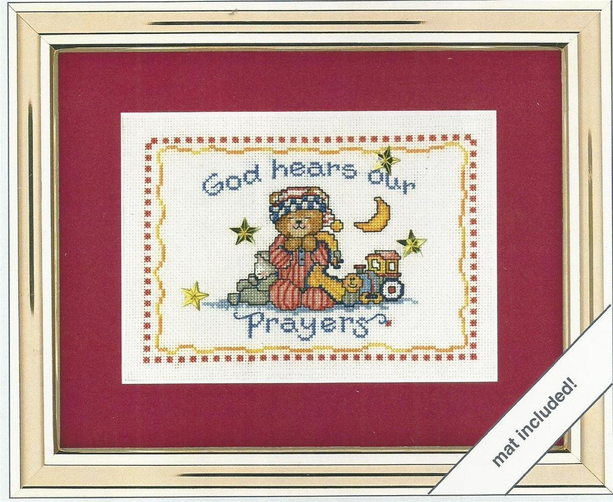 God Hears Our Prayers Counted Cross Stitch Kit Weekenders