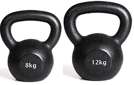IQI - Juego de pesas rusas (8 y 12 kg)