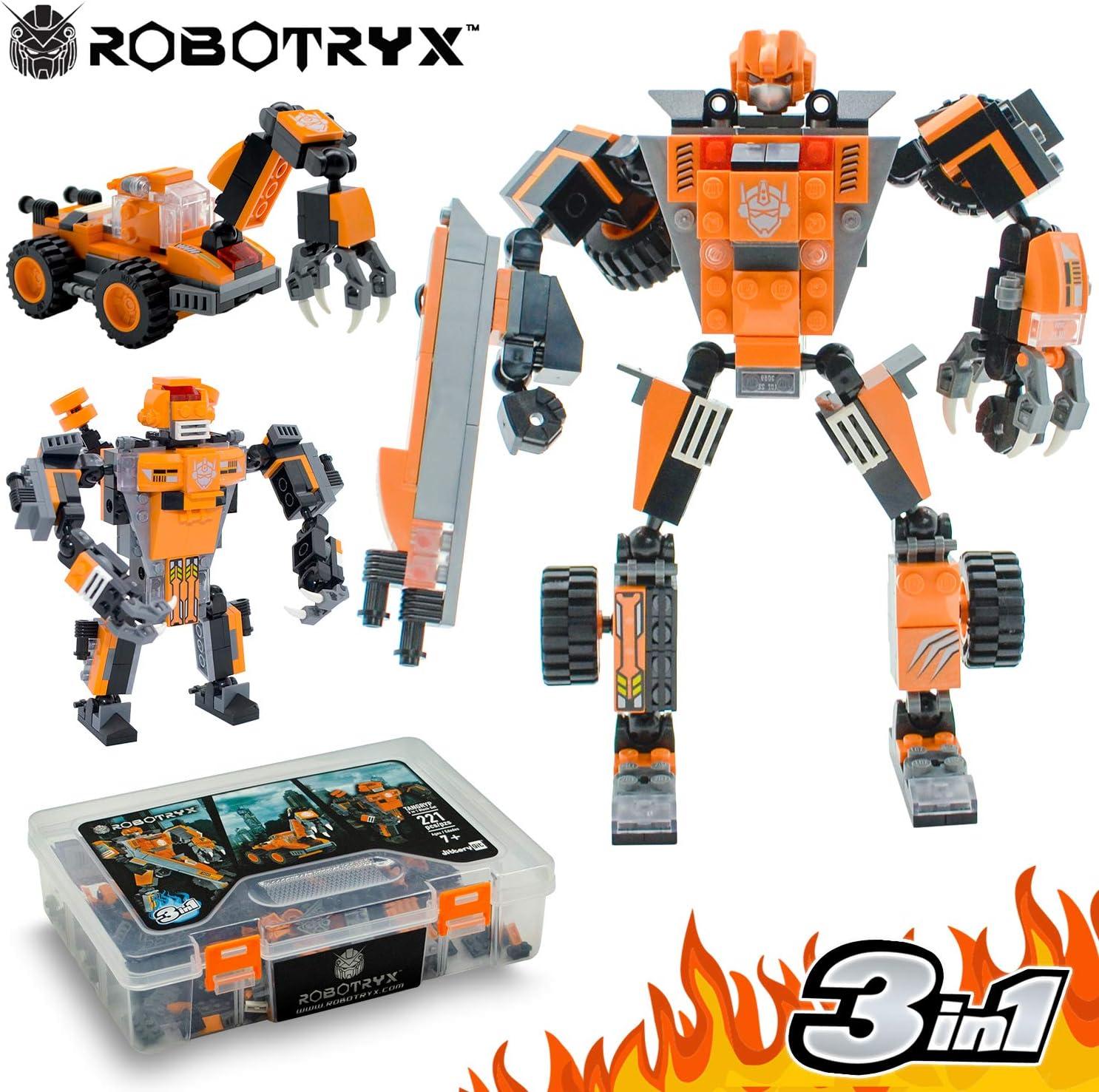 JITTERYGIT Juguete Robot Stem | Divertido Juego Creativo 3 en 1 ...