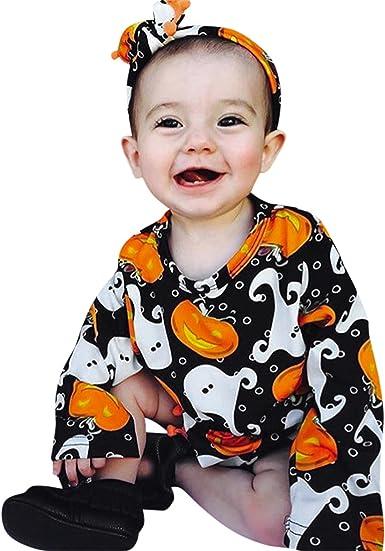 Longra Disfraz Halloween niña Halloween Bebe Invierno Ropa ...