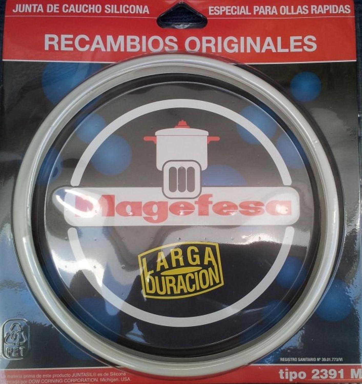 Desconocido Magefesa Junta de Olla, Silicona, Blanco, 22 cm: Amazon.es: Hogar