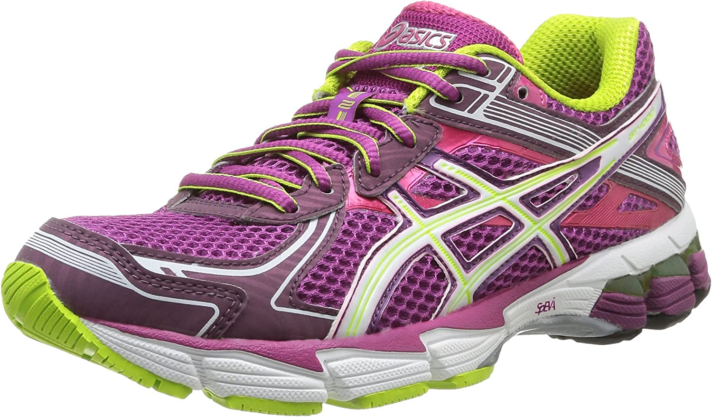 Asics Gt 1000 2 - Zapatillas de running para mujer, color Grape/Wht/Lime, Violeta (Grape/White/Lime), 36: Amazon.es: Zapatos y complementos
