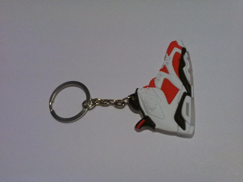 Air Jordan Retro 6 mini-shoe llavero: Amazon.es: Juguetes y ...