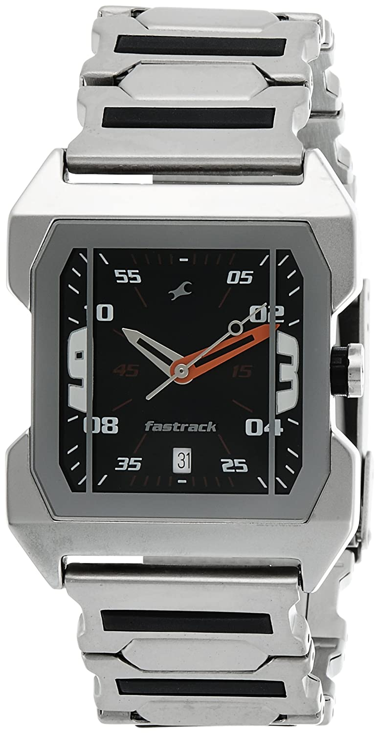 Fastrack Party Analog Black Dial Best Mens Watches Under 5000 in India to buy in 2019 - Reviews & Buyers Guide
