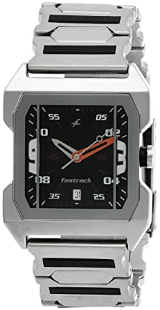 7065f930393 Buy Fastrack Party Analog Black Dial Men s Watch -NK1474SM02 Online ...