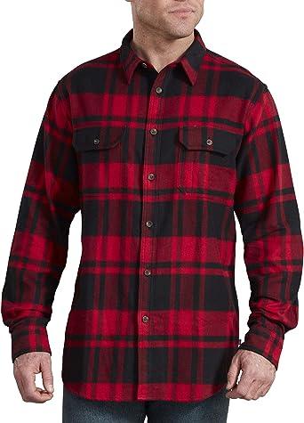 Dickies Camisa de franela de manga larga para hombre: Amazon.es: Ropa y accesorios
