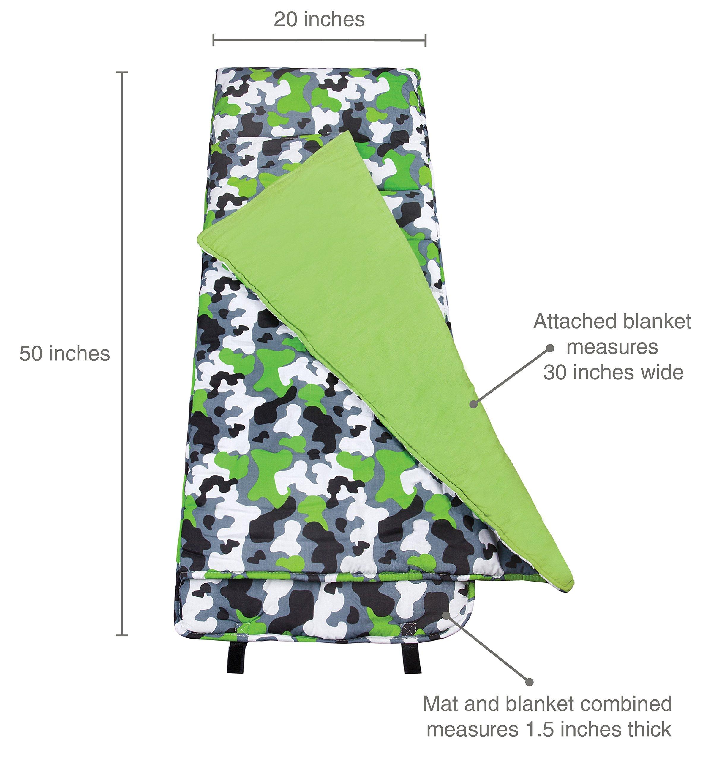 Wildkin Nap Mat, Green Camo