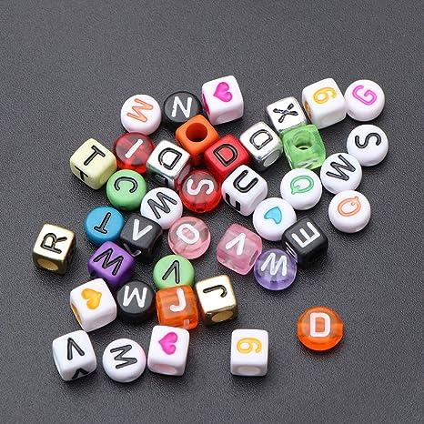 SUPVOX Letra de acrílico color de letra del alfabeto letra ...