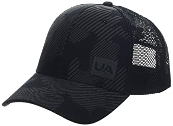 Under Armour Mens Blitzing Trucker 3.0 Gorra, Hombre, Negro Black/Jet Gray 002