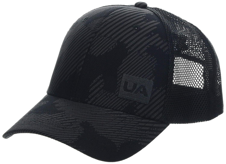 Nero Black//Jet Gray Taglia Unica Cappello Uomo Under Armour Mens Blitzing Trucker 3.0
