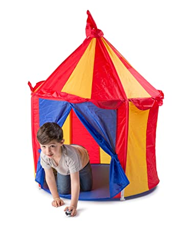 Amazon.com: Children\'s Indoor Play Tent -- CIRCUS TENT- Great Gift ...