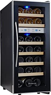 Designed and Manufactured in France by EuroCave Inventor of the Wine Cabinet FranceCave by EuroCave 213 Bottle Free-Standing Single-Zone Wine Cellar