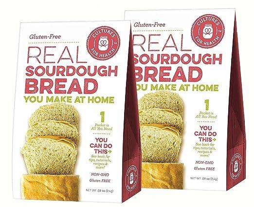 Culturas para la salud Starter Culturas sin gluten sourdough ...