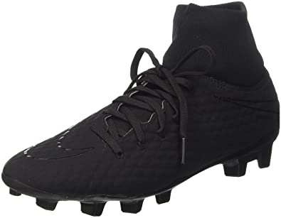 3ff1f70e1 Nike Herren Hypervenom Phelon 3 Df Fg Fußballschuhe, Schwarz Black 001, 40  EU