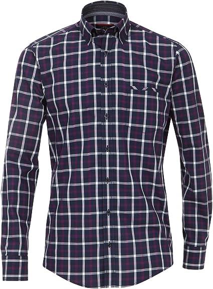 Casa Moda 472800300 - Camisa Casual para Hombre con Cuello ...