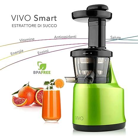 estarattore di frutta  Classe Italy 70430053 Estrattore di Succo Vivo Bassa Velocita 43 Giri/Min,  0.5 litri, 150 Watt, Verde