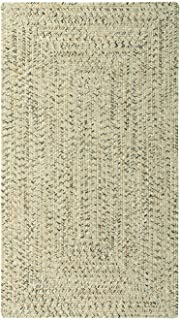 "product image for Capel Sea Pottery Sandy Beach 0' 24"" x 0' 36"" Concentric Rectangle Braided Rug"