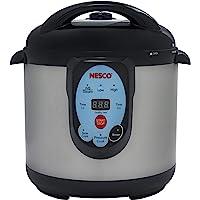 NESCO NPC-9 Smart Pressure Canner and Cooker, 9.5 quart, Stainless Steel