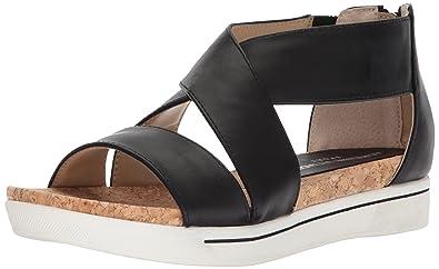 5259fc720f ADRIENNE VITTADINI Footwear Women's Claud Sandal, Smooth Black, ...