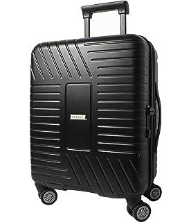 b4118ba692c CX Luggage Maleta de Cabina Superligera con Exterior Rígido de ABS ...