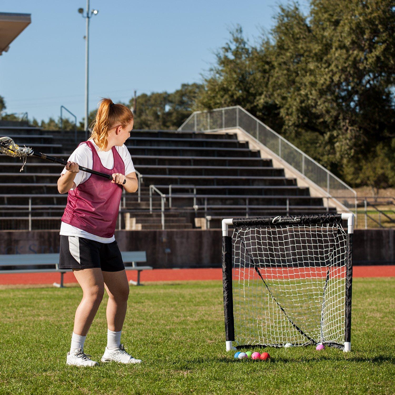 amazon com champion sports mini lacrosse goal kids gear