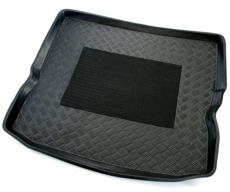 schwarz AD Tuning TMP25015 Passform Kofferraumwanne Anti-Rutsch Oberfl/äche