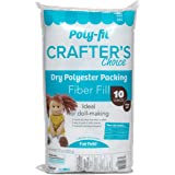 Fairfield CCDF10 Poly-Fil Crafter's Choice Dry Packing Fiber Fill 10 Ounce Bag