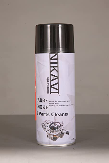 NIKAVI Carburetor Spray,Parts And Choke Cleaner, 400 ML
