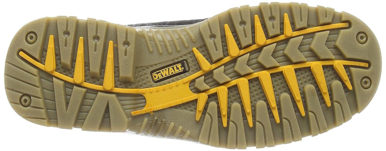 DeWalt Sympatex - Calzado de Protección de Cuero Para Hombre, Color Negro, Talla 39/40 EU