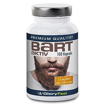 b6f3834c4 GloryFeel Beard-Active Beard Growth Supplement
