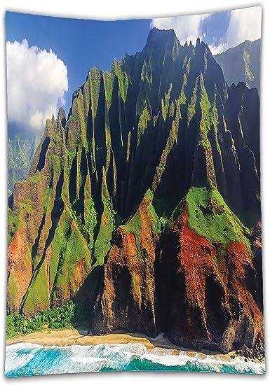 interestlee satinado (mantel? Decoración de Hawaii antena ...