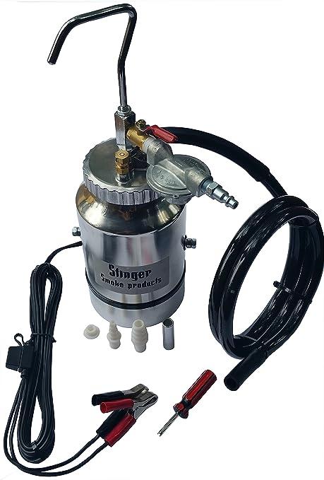 STINGER Brand EVAP Smoke Machine Leak Tester with EVAP Adapter & TWO Smoke  Tips  Tests EVAP, Intake, Exhaust, Vacuum Lines, Manifolds, etc - Stinger