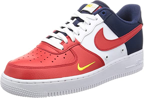 nike air force 1 rosse e blu