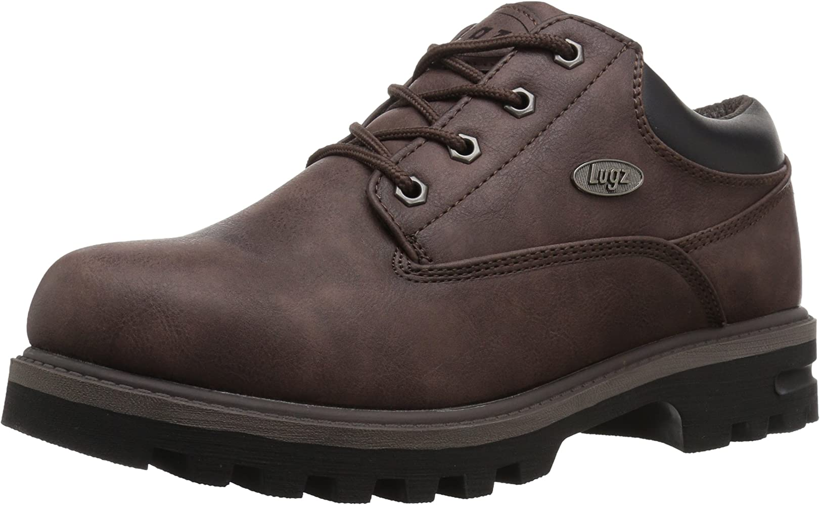 d75943080fc Lugz Men's Empire Lo Water Resistant Fashion Boot, Coffee/Black, 7 D ...