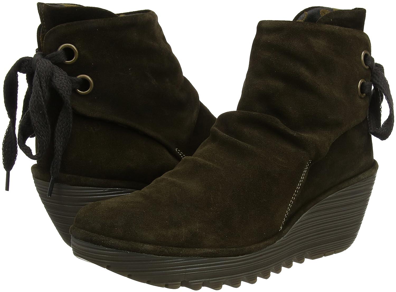 a4daf1f0 Fly London Yama, Botines plataforma para Mujer: Amazon.es: Zapatos y  complementos