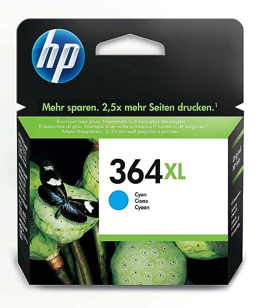 678 opinioni per HP CB323EE No.364XL Cartuccia d'Inchiostro Originale 750 Pagine, colore: Ciano