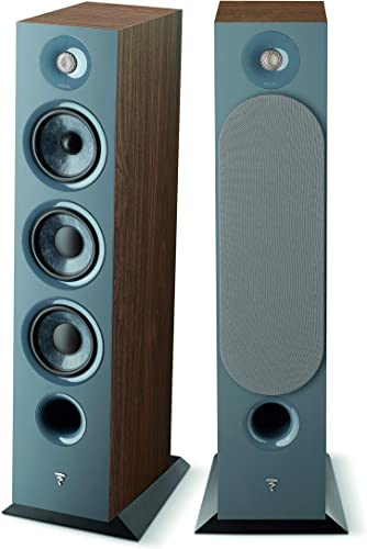 Focal Chora 826 Floor Standing Speaker – Dark Wood