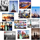 "NEW Various NYC New York Collectible Photo Postcards 5"" x 7"" (5X7_Postcard, SetB)"