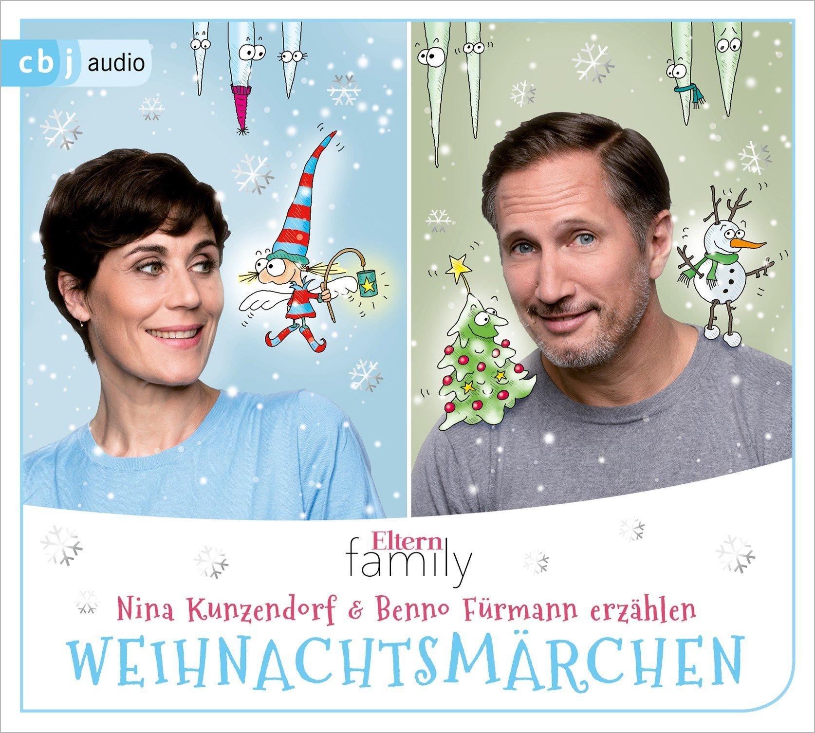 Eltern family Weihnachtsmärchen: Nina Kunzendorf und Benno Fürmann ...