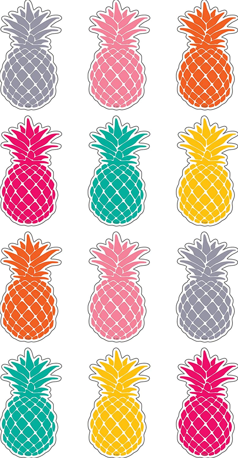 Teacher Created Resources Tropical Punch Pineapples Mini Accents