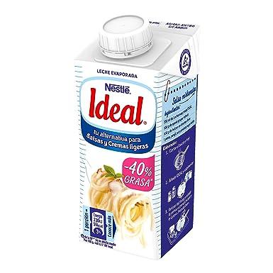 Nestlé Ideal - Leche evaporada semidesnatada - Caja de leche ...