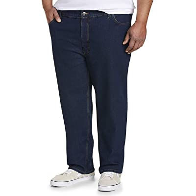 Essentials Men's Big & Tall Athletic-fit Stretch Jean fit by DXL: Clothing