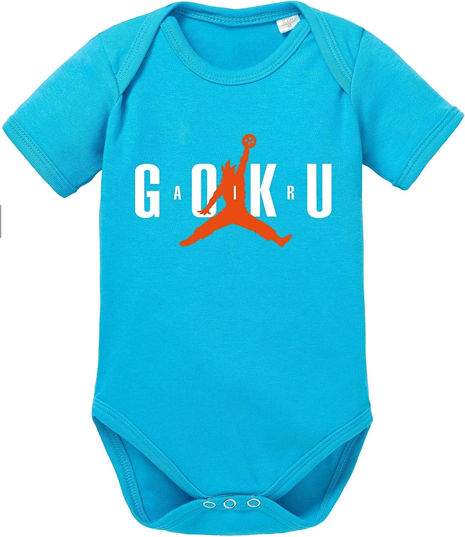 Air Goku Dragon Body Ball b/éb/é Coton Bio Son Proverbes Barboteuses Gar/çons et Filles 0-12