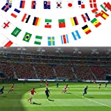Kebo 2018 World Cup Flags Banner